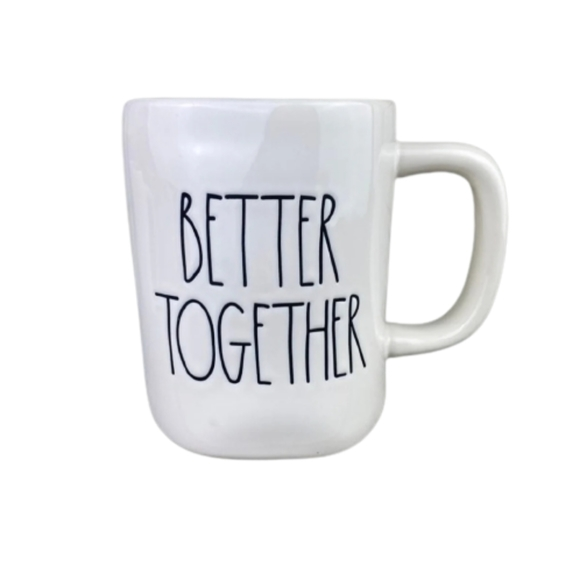 "New Rae Dunn by Magenta ""BETTER TOGETHER"" Mug"